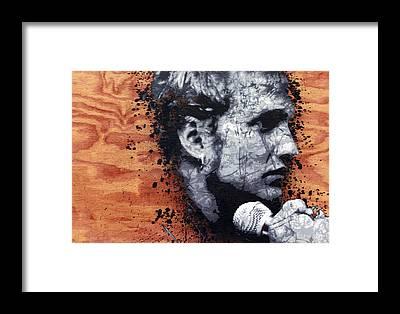 Layne Staley Framed Prints