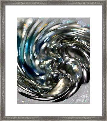Man In The Glass Framed Print by Krissy Katsimbras