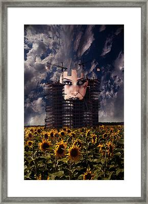 Man Made Framed Print by Nathan Wright