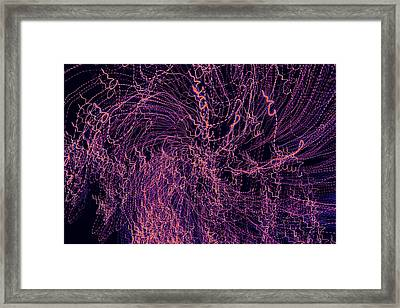 Framed Print featuring the digital art Man Move 0038 by David Davies