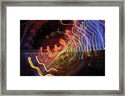 Framed Print featuring the photograph Man Move 0050 by David Davies
