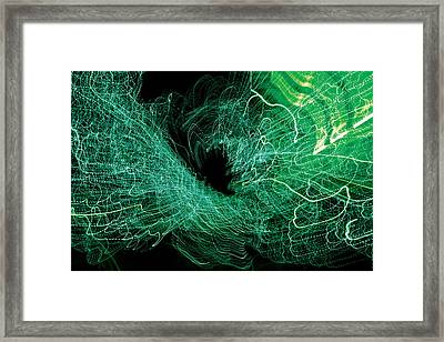 Framed Print featuring the digital art Man Move 0058 by David Davies