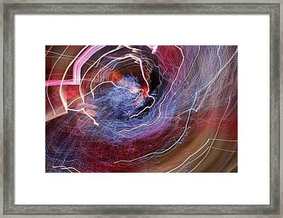 Framed Print featuring the photograph Man Move 0068 by David Davies