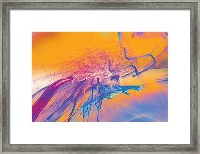 Framed Print featuring the photograph Man Move 0102 by David Davies