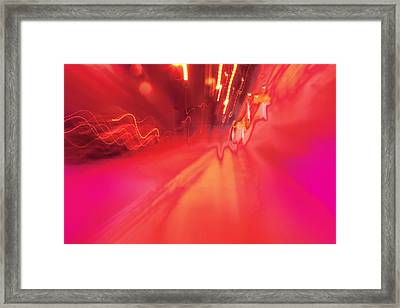 Framed Print featuring the digital art Man Move 0131 by David Davies