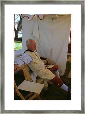 Man Of Leisure Framed Print by Kay Novy