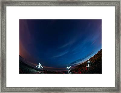 Man Of Light Framed Print