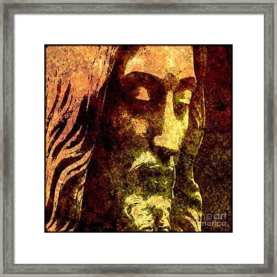 Man Of Sorrows Framed Print by Michael Grubb