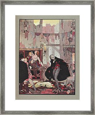 Man Of The Crowd Framed Print by British Library