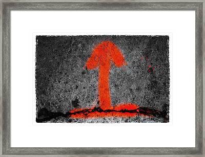 Man Framed Print by Roger Winkler