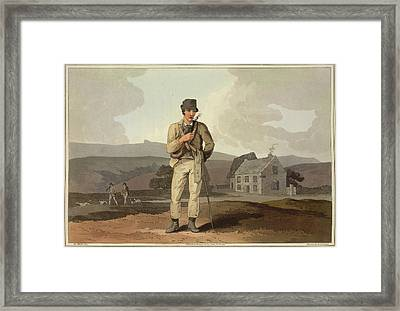 Man Smoking Framed Print by British Library
