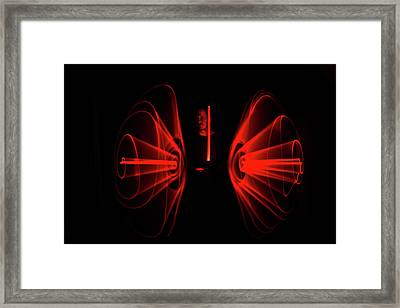 Man With Saber Framed Print