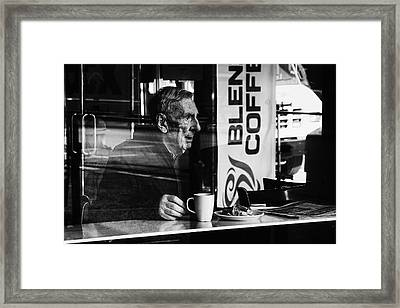Man With The Child In His Eyes Framed Print