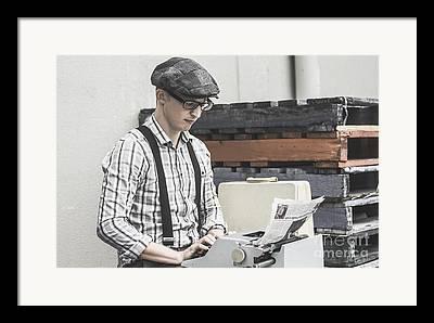 Examiner Framed Prints