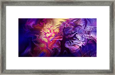 Managing Mystery Moggle Framed Print by Kyle Wood