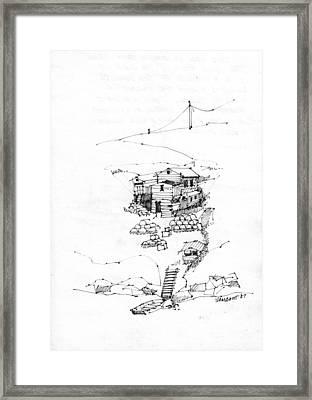 Manana Hermitage Framed Print