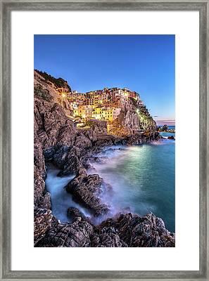 Manarola Cinque Terre Framed Print