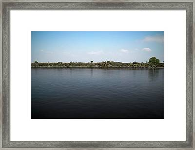 Manchester Ship Canal Framed Print