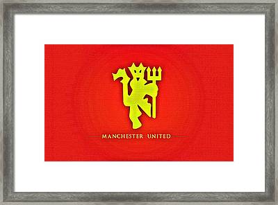 Manchester United Football Club Poster Framed Print