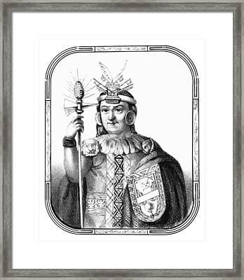 Manco, Sapa Inca, Neo-inca State Framed Print