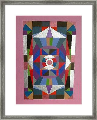 Mandala 1 Framed Print by Hang Ho