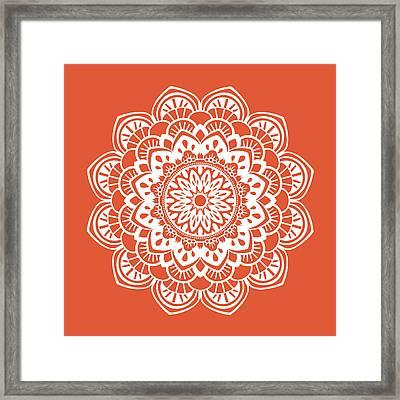 Mandala 1 Framed Print by Tamara Robinson