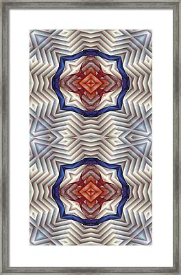 Mandala 11 For Iphone Double Framed Print by Terry Reynoldson