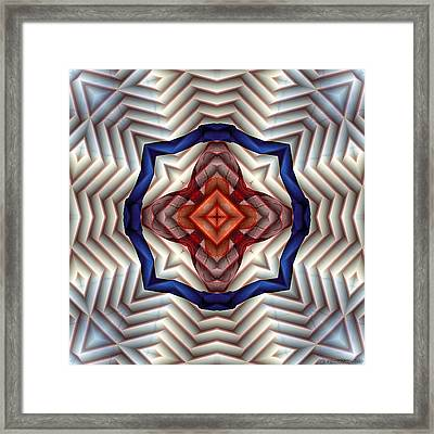 Mandala 11 Framed Print by Terry Reynoldson