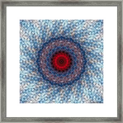 Mandala 3 Framed Print by Terry Reynoldson