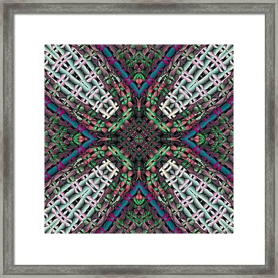 Mandala 32 Framed Print by Terry Reynoldson