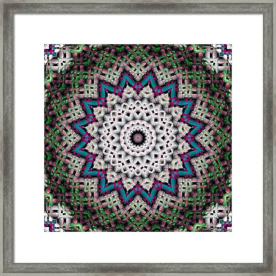 Mandala 37 Framed Print by Terry Reynoldson