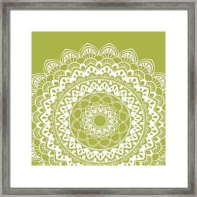Mandala 4 Framed Print by Tamara Robinson