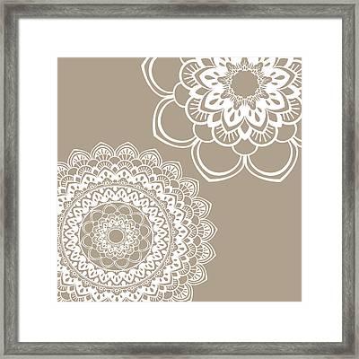 Mandala 5 Framed Print by Tamara Robinson
