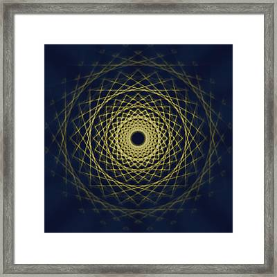 Mandala 6 Framed Print by Santiago Tomas Gutiez