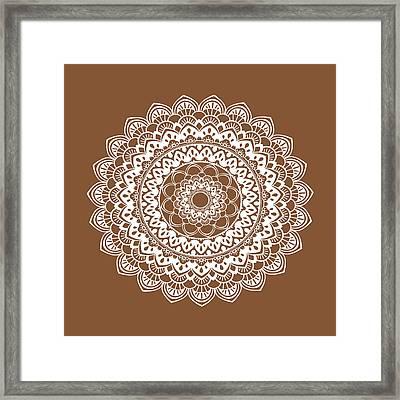 Mandala 6 Framed Print by Tamara Robinson