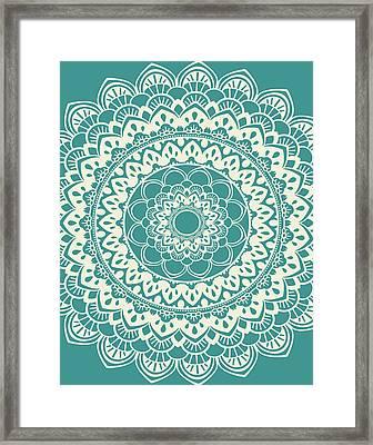 Mandala 7 Framed Print by Tamara Robinson