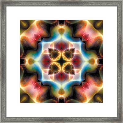 Mandala 77 Framed Print by Terry Reynoldson
