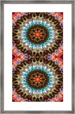Mandala 79 For Iphone Double Framed Print