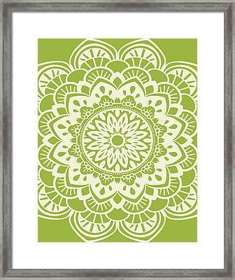 Mandala 8 Framed Print by Tamara Robinson