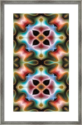 Mandala 82 For Iphone Double Framed Print
