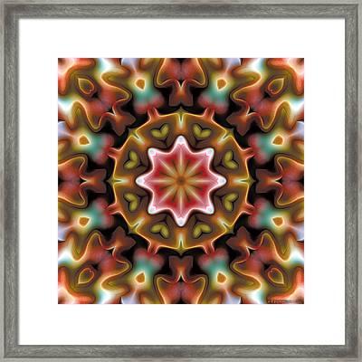 Mandala 92 Framed Print by Terry Reynoldson
