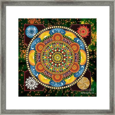 Mandala Elements Framed Print