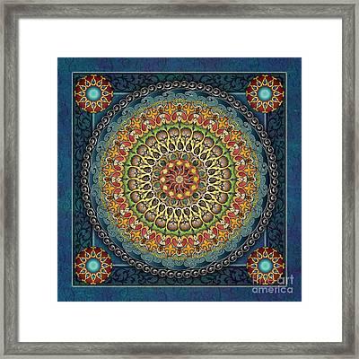Mandala Fantasia Framed Print