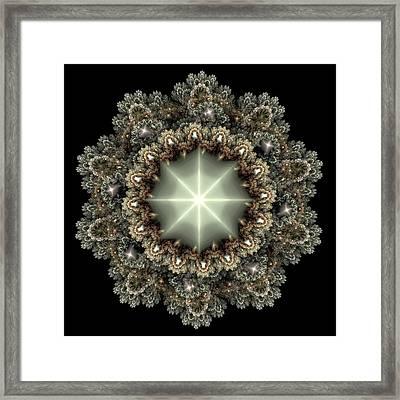 Mandala Framed Print by Svetlana Nikolova