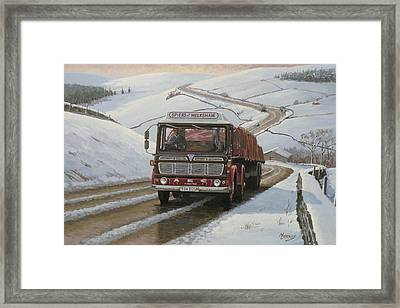 Mandator On Shap. Framed Print by Mike  Jeffries