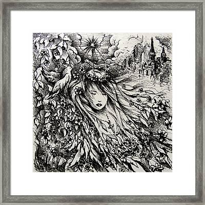 Mandee's Dream Framed Print by Rachel Christine Nowicki