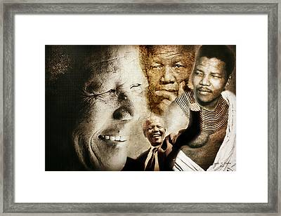 Mandela Journey Framed Print
