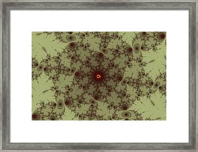 Mandelbrot Byways No. 16 Framed Print by Mark Eggleston