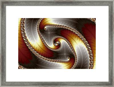 Mandelbrot Byways No. 26 Framed Print by Mark Eggleston