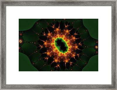 Mandelbrot Surprise Framed Print by Mark Eggleston
